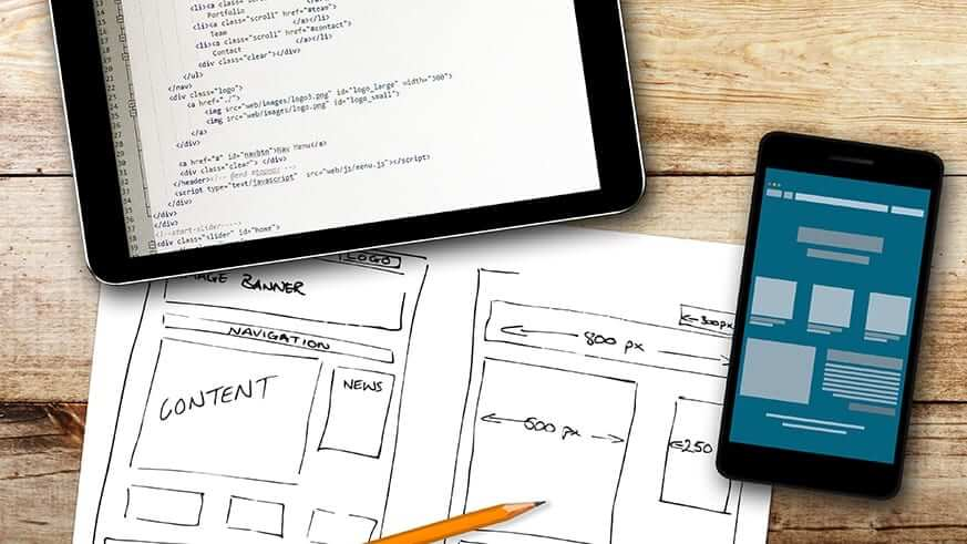 Website design planning in Dundee