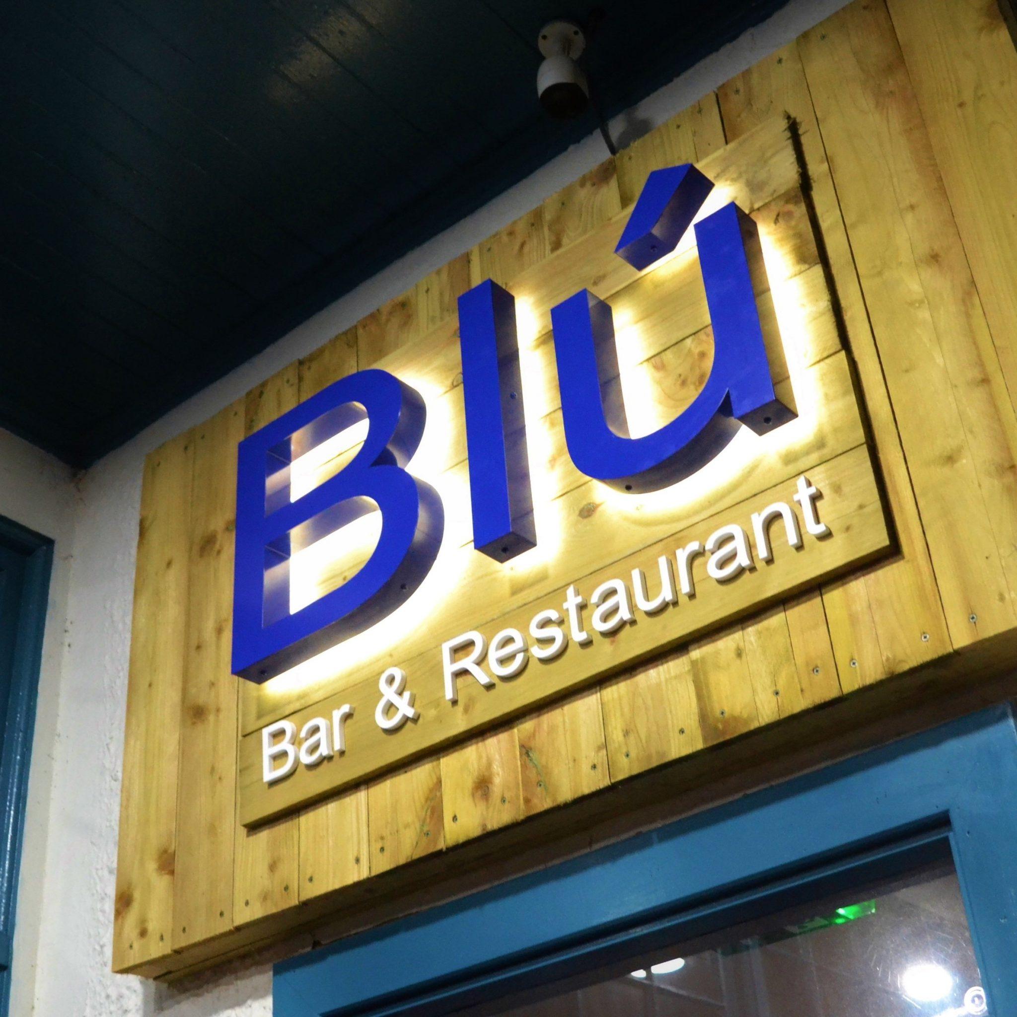 Restaurant logo for web design in Dundee