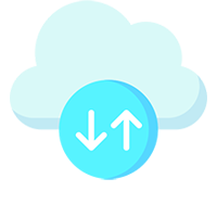 Cloud backup icon for Web Design in Dundee