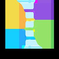 Web design event flow widget icon in Dundee