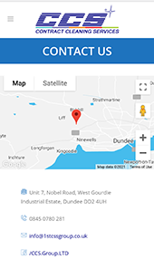 Dundee company contact website page