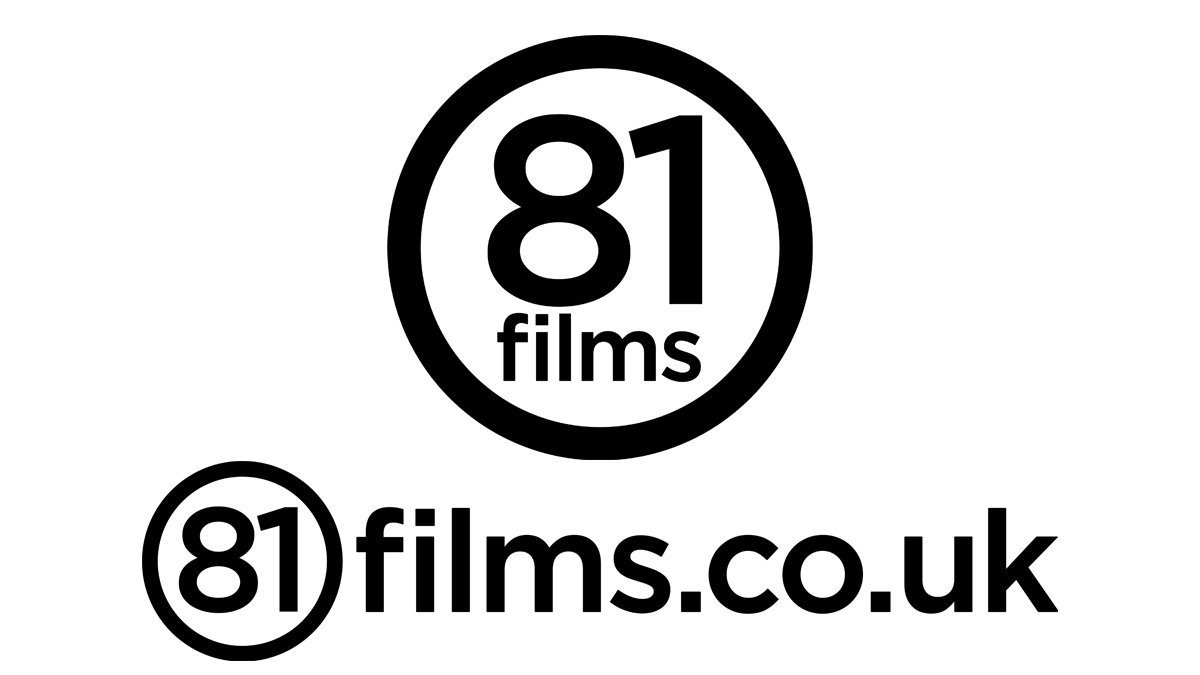 81 films circular and website address logo in Dundee