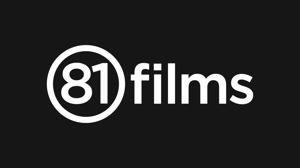 81 films logo on dark in Dundee